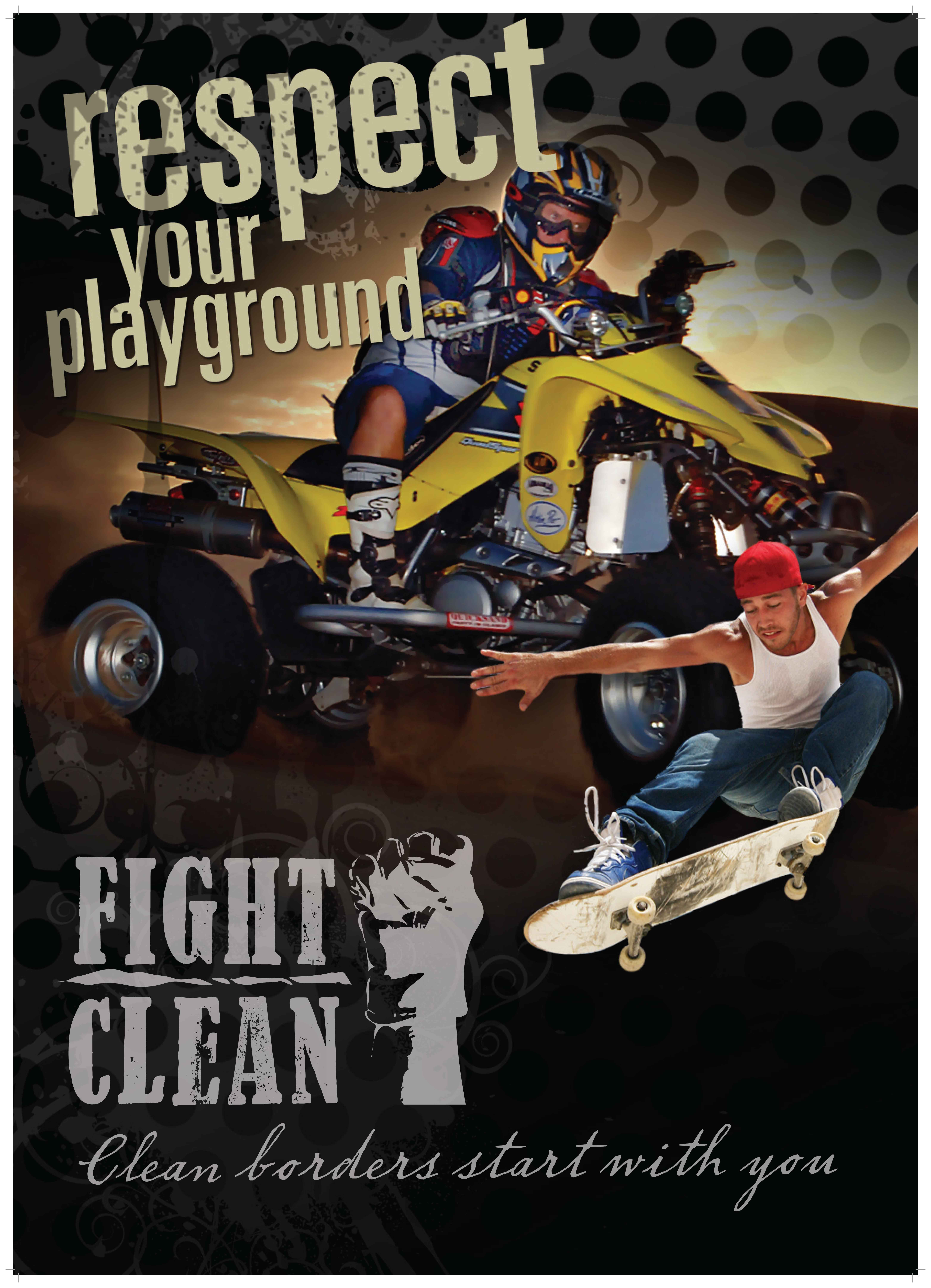 Fight Clean Poster